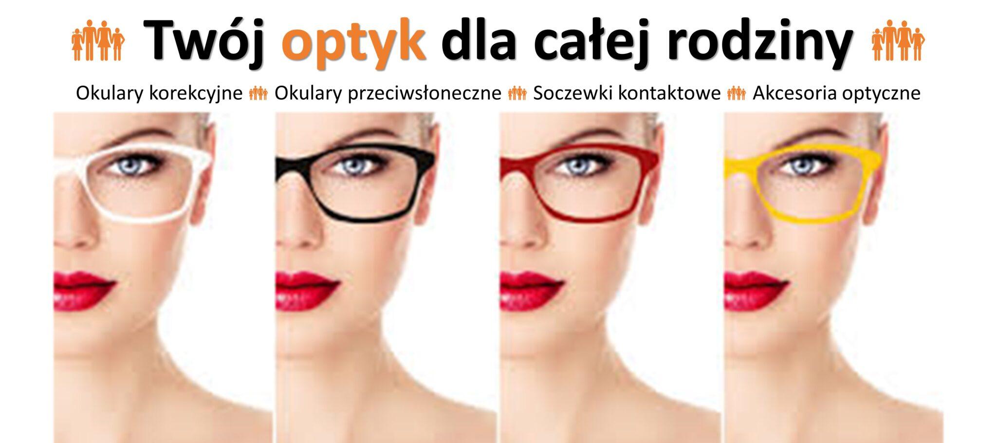Okulary korekcyjne i przeciwsłoneczne